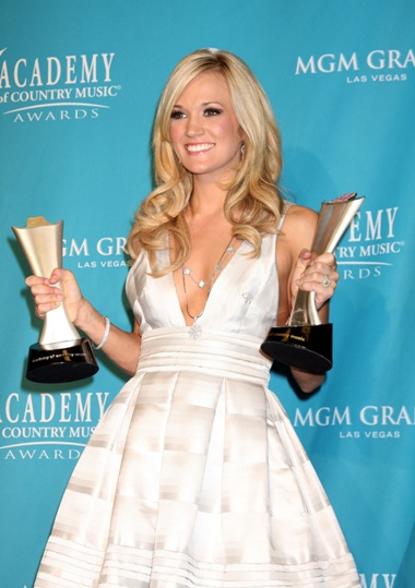 Carrie Underwood ACM Awards Winner 2010