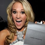 Carrie Underwood backstage at the 2009 Academy of Country Music Awards