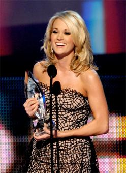 Carrie Underwood Peoples Choice Awards