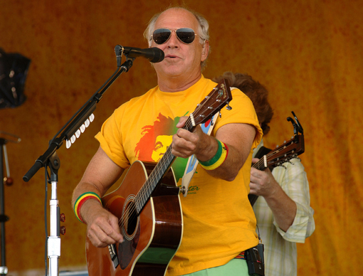 Jimmy Buffett at the Gulf Coast Concert