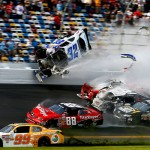 NASCAR 300 Crash Caught on Tape